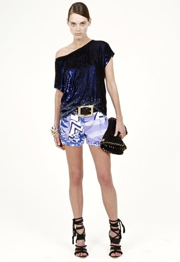 Dundas Continues to Look Past House Prints at Emilio Pucci for Cruise 2010