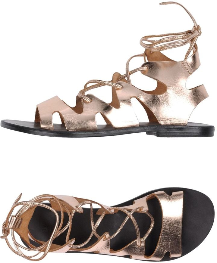 CB FUSION Sandals ($103) offer a fun way to put a twist on gladiator sandals.