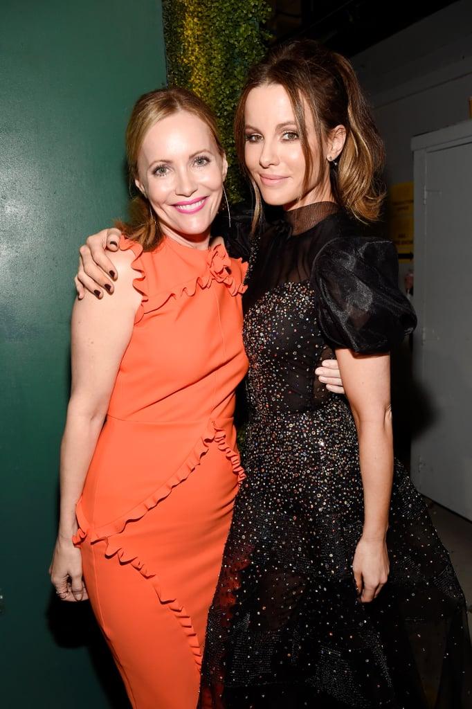 Pictured: Kate Beckinsale and Leslie Mann