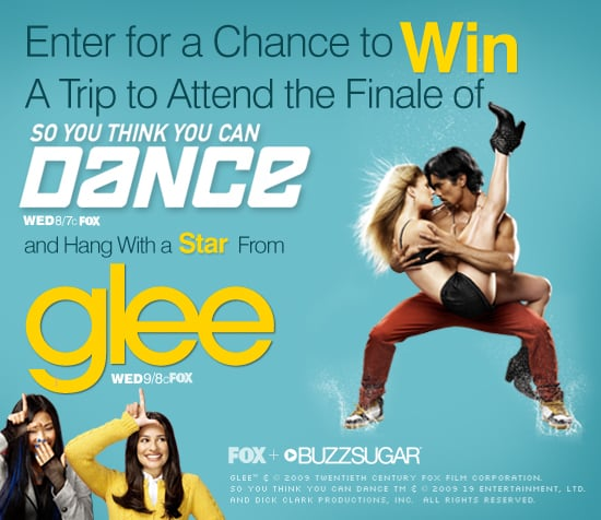 Win the Trip of a Lifetime to Attend SYTYCD Finale and Hang With a Cast Member From Glee!