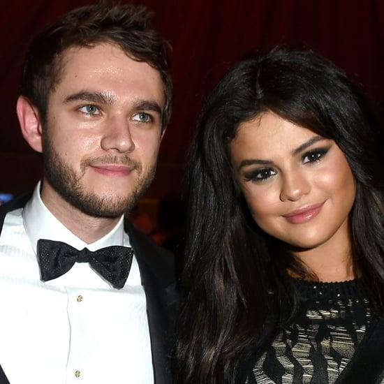 Selena Gomez and DJ Zedd at Vanity Fair Oscars Party 2015