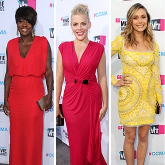 Red Carpet Dress Pictures at Critics' Choice Awards 2012