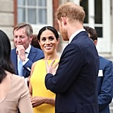 Find someone who looks at you the way Meghan looks at Harry.