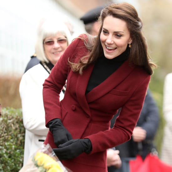 Kate Middleton Wearing  Paule Ka Suit