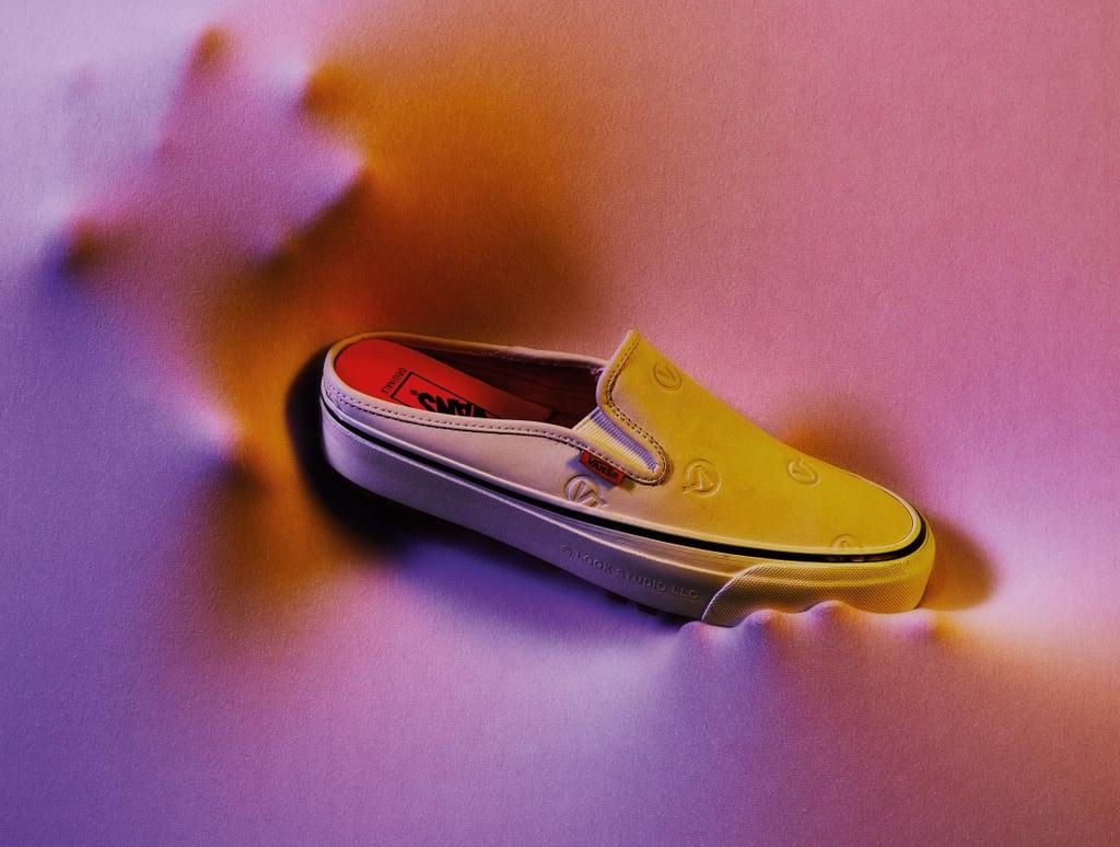 White Vans by Vault x LQQK Slip-Ons OG Style 17 Mule LX