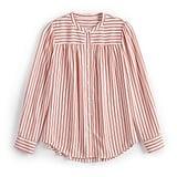 POPSUGAR Shirred Button Down Shirt