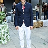 Scott Sternberg at the Band of Outsiders and Bon Appétit dinner in Los Angeles.