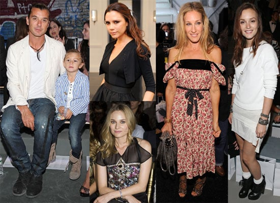 Pictures of Victoria Beckham, Leighton Meester, Gavin Rossdale, and More at 2011 Spring New York Fashion Week 2010-09-12 22:03:00