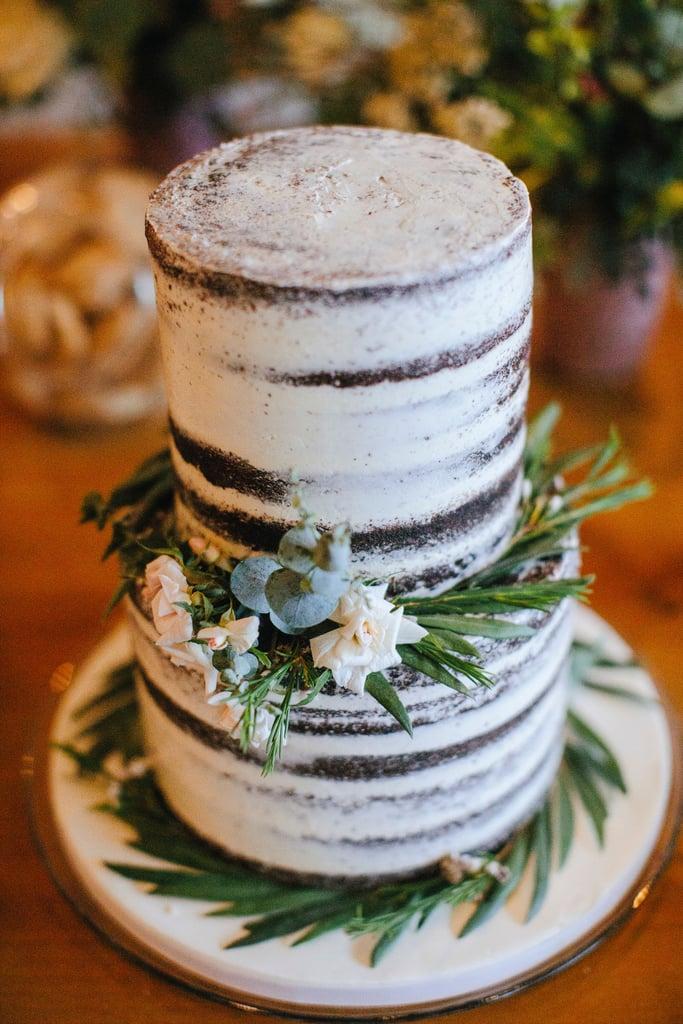 Woodsy White Cake