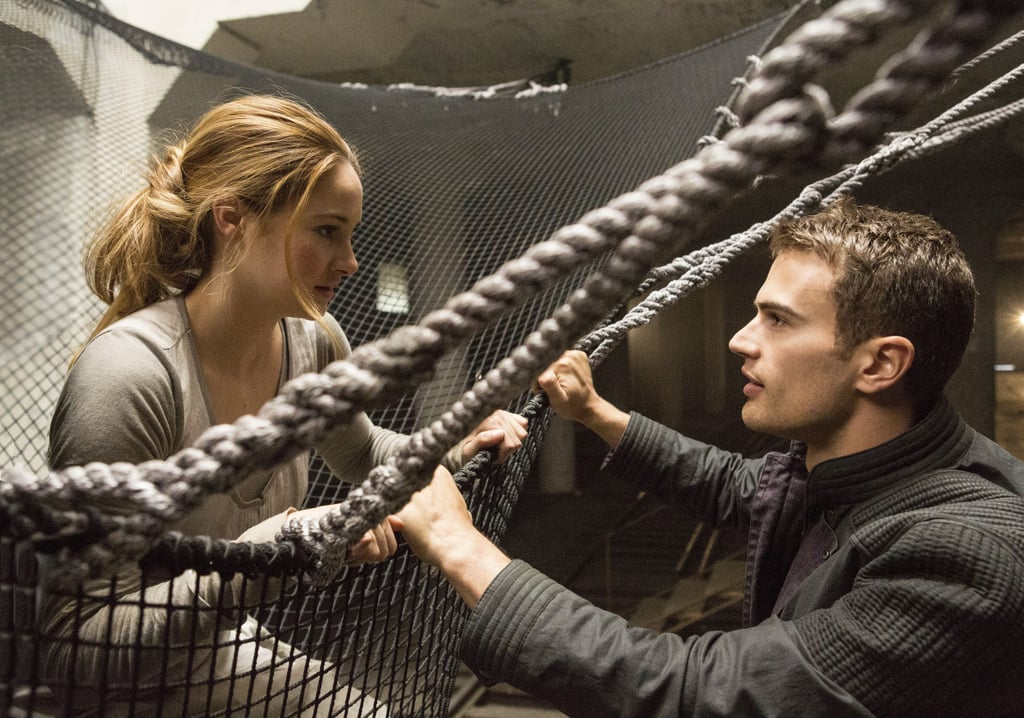 He's the first person Tris meets.