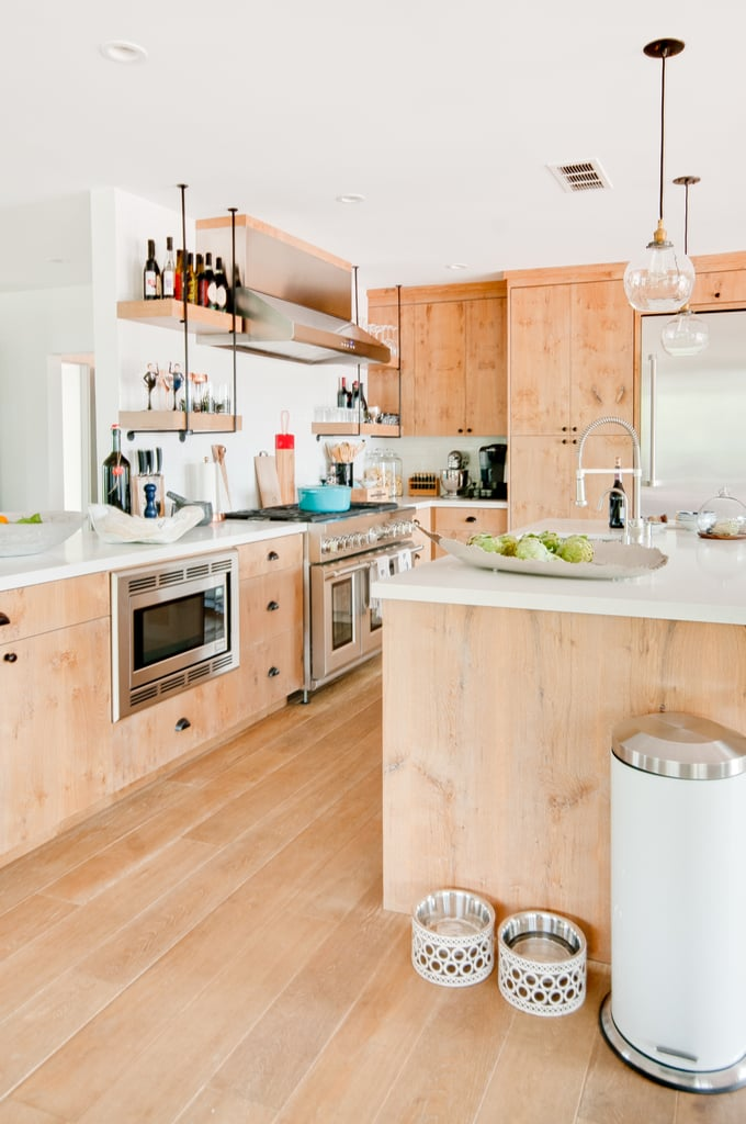 """When we designed the house, we wanted that kitchen to be open to the living room because we knew we would love to wine and dine all at the same time with our friends,"" said Michael. On those occasions, Lance will cook his famous chili. ""Just watch movies, play game night, and eat this chili,"" the singer said."
