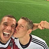 The World Cup Win Selfie