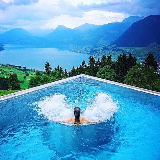 Rooftop Pool in Switzerland