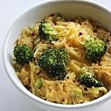 Spaghetti Squash Mac and Cheese With Broccoli