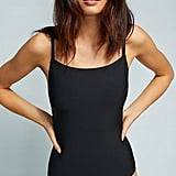 Anthropologie Square-Neck One-Piece Swimsuit