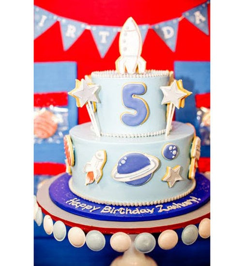 Out Of This World Space Party Birthday Cakes For Boys