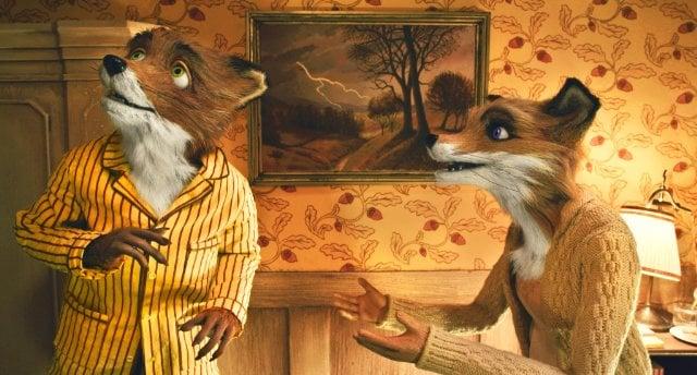 A Fox From Fantastic Mr. Fox