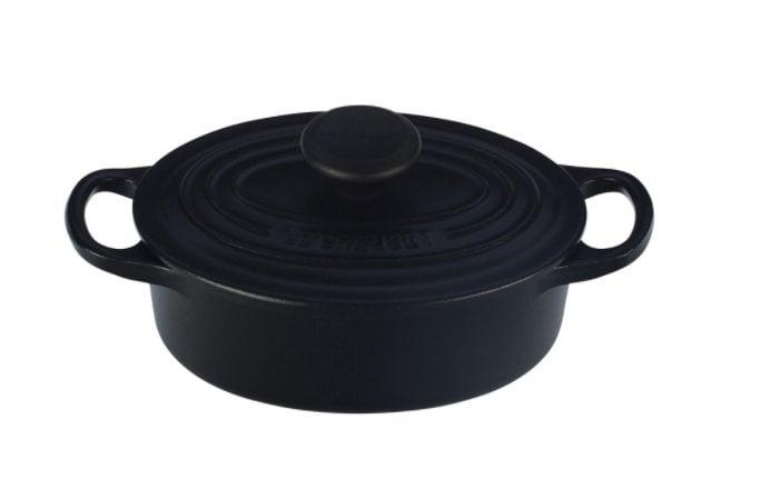 Le Creuset Oval Dutch Oven in Matte Black ($135)