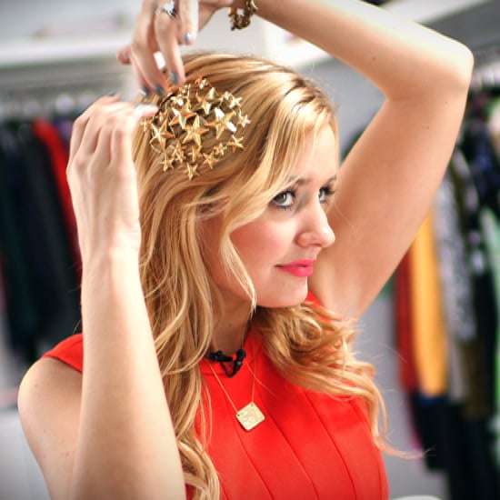 A Runway-Inspired Hair Accessory