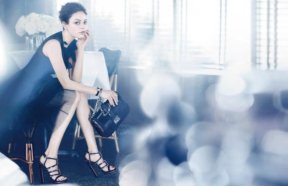 Mila Kunis stars in the latest Dior campaign. Source: Fashion Gone Rogue