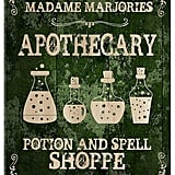 Custom Apothecary Sign