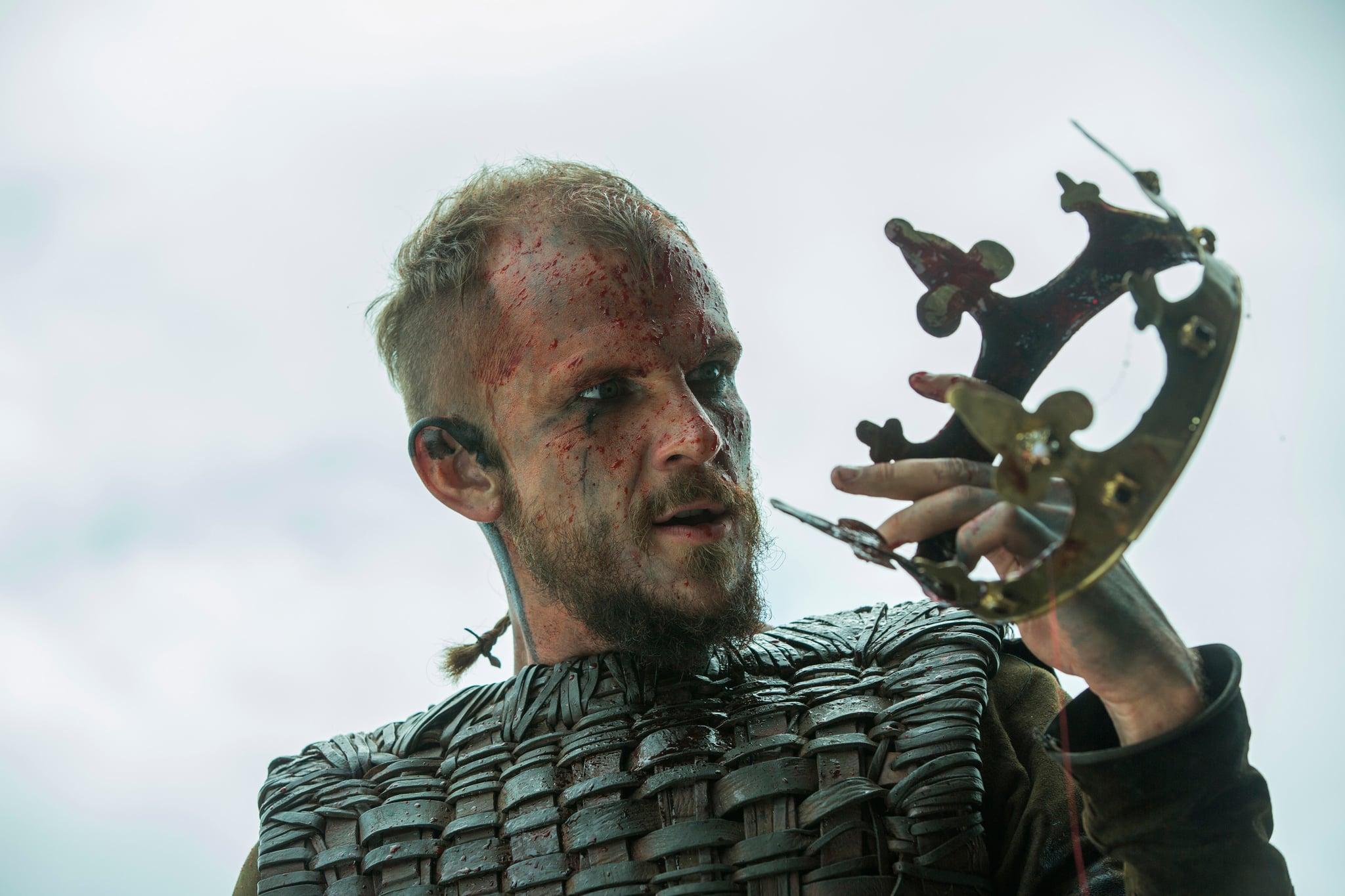 VIKINGS, Gustaf Skarsgard, 'Mercenary', (Season 3, ep. 301, aired Feb. 19, 2015). photo: Jonathan Hession / History Channel / courtesy Everett Collection