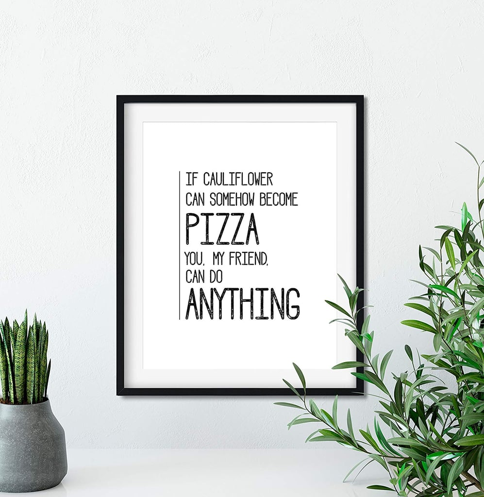 Funny Humorous Home Decor Keto Diet Sign