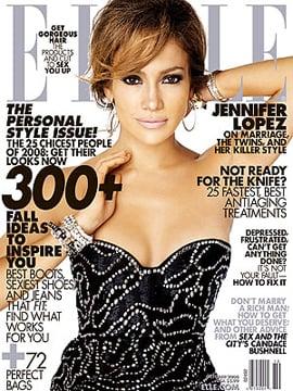 Photo of Jennifer Lopez on Elle US Cover Story: Modern Elizabeth Taylor Says Fashion Designer Michael Kors