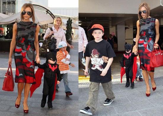 Brooklyn Beckham Celebrates 9th Birthday With Batman