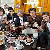 One Direction at ET Canada in 2012