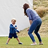 Prince George Playing With Mom