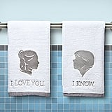 Han and Leia Hand Towels