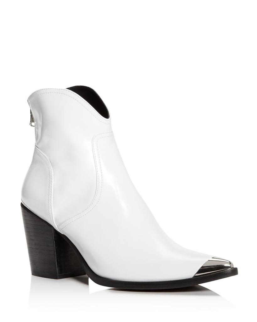 AQUA White Boots
