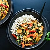 Easy Vegetarian Recipe: Thai Red Curry With Vegetables