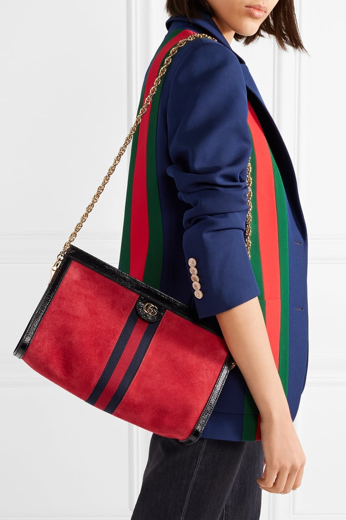 Red Small Suede Ophidia Bag Gucci Ofkhc