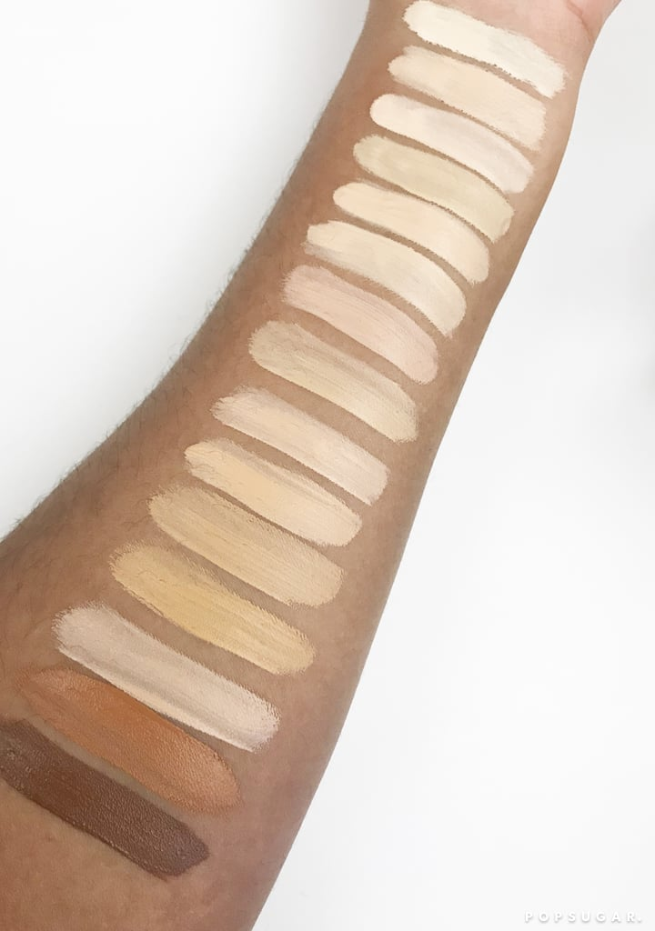 Tarte Cosmetics Shape Tape Hydrating Foundation Swatches