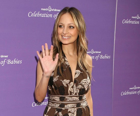 Slide Photo of Nicole Richie at March of Dimes Event in LA