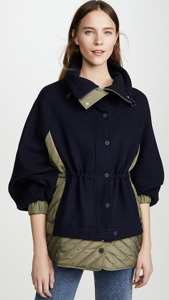 Ganni Tech Wool Pullover
