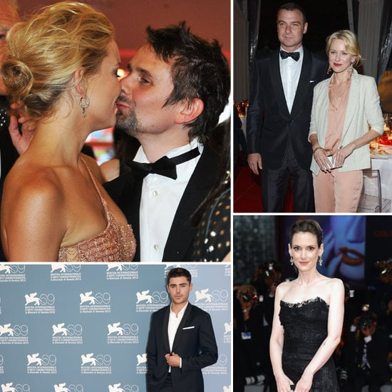 All The Pictures From The 2012 Venice Film Festival: Kate Hudson, Naomi Watts, Zac Efron & Winona Ryder