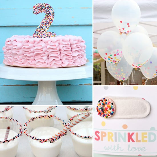 Sprinkles-Inspired Kids' Birthday Party