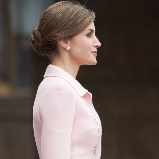 Queen Letizia's Updos and Ponytails