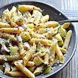 Penne With Zucchini and Yogurt Cream Sauce