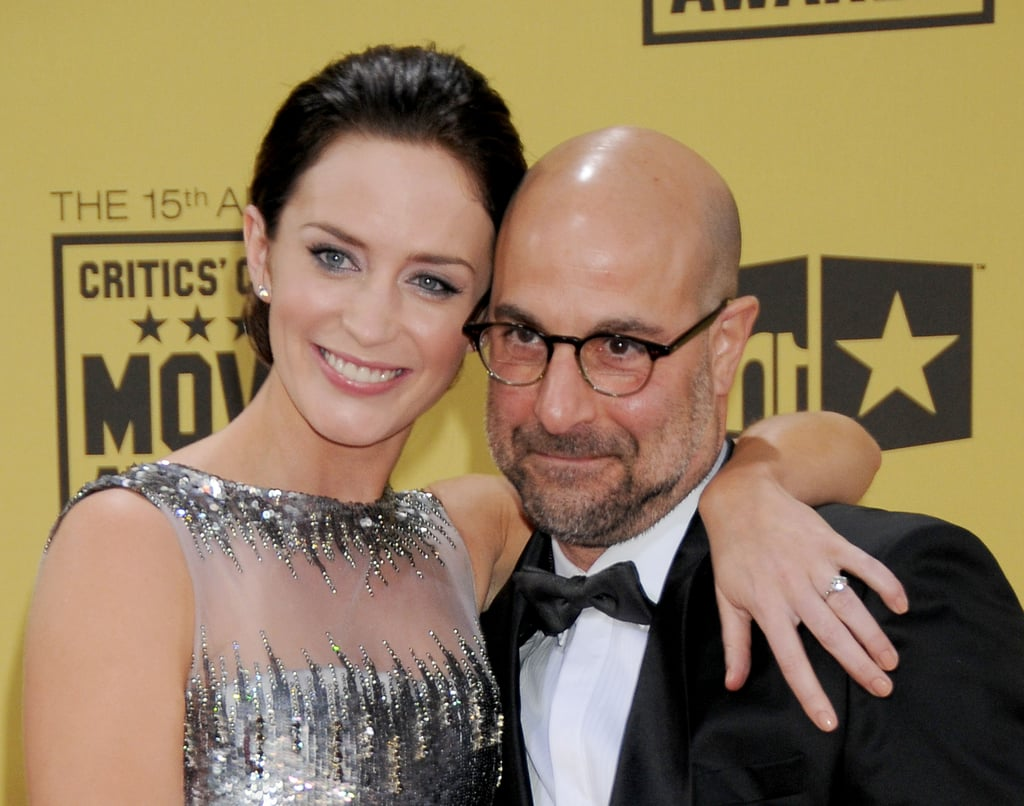 Emily Blunt and Stanley Tucci are more than just costars . . .