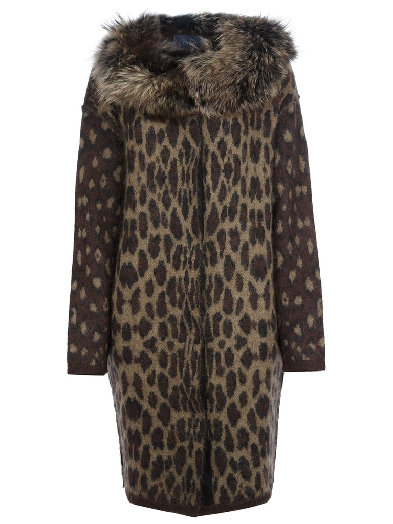 Lanvin's Pre-Fall collection was full of luxurious leopard prints. Get your spots now with the brand's fur-trimmed coat ($4,349).