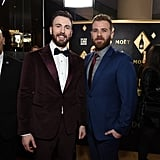 Chris Evans at the Golden Globes 2020