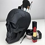 Pluto 99 Tribal Skull Makeup Brush Holder ($75, originally $150)