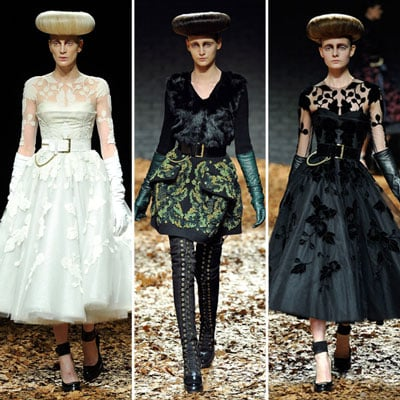 Review and Pictures of McQ by Alexander McQueen London Fashion Week Runway Show