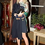Jessica Mycock dined with Stefano Tonchi and Evan Yurman at Restaurant 1728 in Paris.