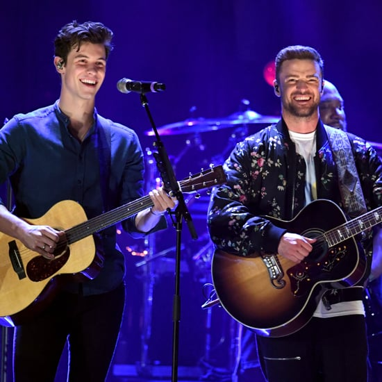 Justin Timberlake and Shawn Mendes iHeartRadio Performance
