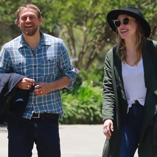 Charlie Hunnam and Morgana McNelis Pictures in LA June 2018